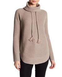 Catherine Malandrino | Multicolor Cashmere Cowl Neck Sweater | Lyst