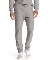 Reigning Champ Gray Twill Terry Pants for men