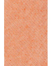 John W. Nordstrom - Orange (r) Solid Silk Bow Tie for Men - Lyst