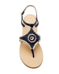 Jack Rogers Multicolor Maci Flat Sandal