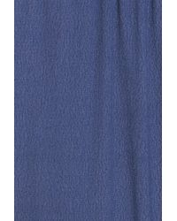 Monrow - Blue Lounge Jogger Pants - Lyst
