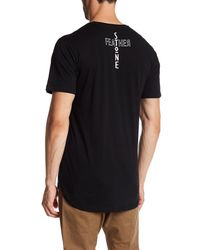 Stonefeather - Black Short Sleeve Graphic Tee for Men - Lyst