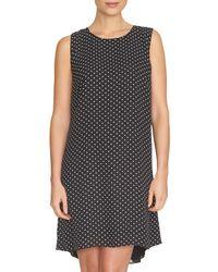 Cece by Cynthia Steffe Black 'disco Dot' A-line Shift Dress