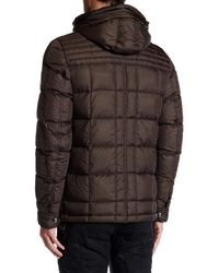 Belstaff - Green Frampton Down Coat for Men - Lyst
