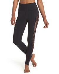 Alo Yoga Black Reform Leggings