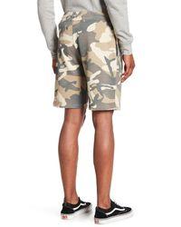 Wesc Multicolor Marty Camo Shorts for men