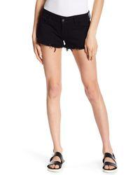 Siwy - Black Camilla Cutoff Shorts - Lyst