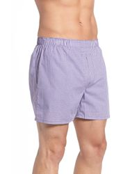 Polo Ralph Lauren Purple Assorted Cotton Boxers - Pack Of 3 for men