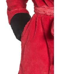 Betsey Johnson - Red Glamour Short Robe - Lyst