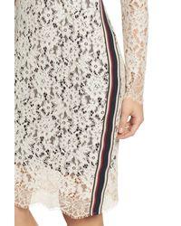Vince Camuto - White Lace Sheath Dress (regular & Petite) - Lyst