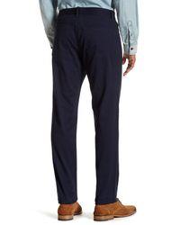 "Original Penguin - Blue Stretch Twill Straight Pant - 32-34"" Inseam for Men - Lyst"