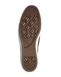Converse Brown Chocolate Suede Sneaker (unisex) for men