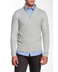 Jimmy Taverniti - Gray Zip Sweater for Men - Lyst