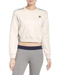 Fila - Multicolor Felicity Crop Sweatshirt - Lyst