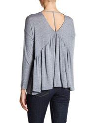 Lush - Multicolor T-back Long Sleeve Shirt - Lyst