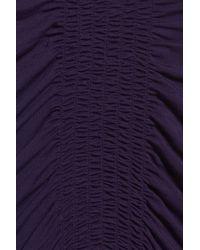Midnight By Carole Hochman - Purple Nightgown - Lyst