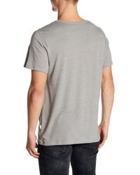 Onia Gray Chad Solid Pocket Tee for men