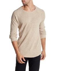 Lucky Brand | Natural Thermal Crew Neck Tee for Men | Lyst
