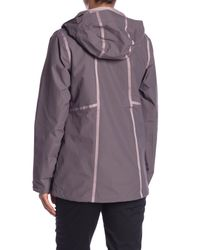 The North Face Purple Roxborough Hooded Jacket