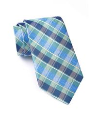 Nautica - Green Norwell Plaid Silk Tie for Men - Lyst