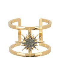 Vince Camuto - Metallic Crystal Star Cuff Bracelet - Lyst