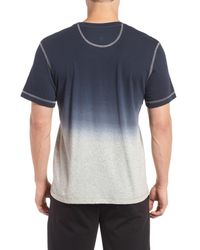 Daniel Buchler | Blue Ombre Peruvian Pima Cotton T-shirt for Men | Lyst