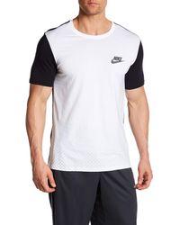 Nike - Black Av15 Colorblock Athletic Cut Tee for Men - Lyst