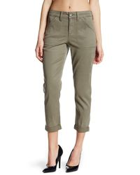 NYDJ - Green Reese Relaxed Chino (petite) - Lyst