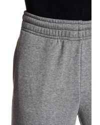 PUMA - Gray Cuffed Sweatpant for Men - Lyst