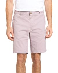 Tailor Vintage - Purple Stretch Twill Walking Short for Men - Lyst