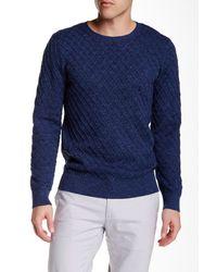 Gant Rugger | Blue The Diamond Sweater for Men | Lyst