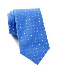 Tommy Hilfiger | Blue Soft Dot Slim Tie for Men | Lyst
