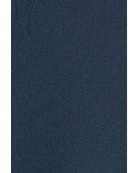 Trouvé - Blue Raw Edge Ruffle Chiffon Blouse - Lyst