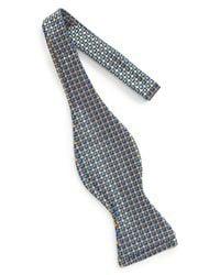 John W. Nordstrom - Yellow (r) Geometric Silk Bow Tie for Men - Lyst