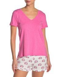 Pj Salvage Pink Everyday Basic T-shirt