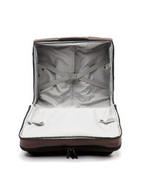 Delsey Brown Cruise Lite Soft Spinner Trolley Tote for men