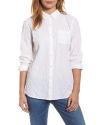 Caslon - White Button Up Shirt - Lyst