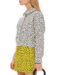 TOPSHOP Multicolor Animal Print Jacket