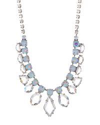 Sorrelli - Multicolor Modern Heirloom Crystal Necklace - Lyst
