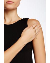 Elizabeth and James - Black Summa 4-finger Ring - Lyst