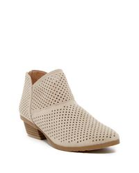 Kenneth Cole Reaction Multicolor Side Walk Suede Ankle Bootie