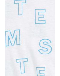 Stem Blue Graphic Scooped Hem T-shirt (baby)