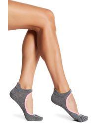ToeSox Multicolor Bellarina Full Toe Grip Socks