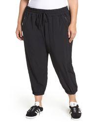 Zella - Black Out & About Crop Jogger Pants - Lyst