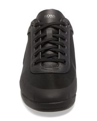 BOSS by Hugo Boss Black Saturn Low Profile Sneaker for men