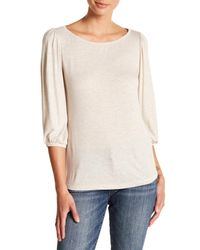 Kut From The Kloth Natural Kut From The Cloth Knit Tee