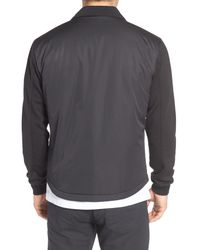 Bugatchi - Black Snap Jacket for Men - Lyst