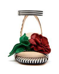Katy Perry Multicolor The Elanor Rose Block Heel Sandal