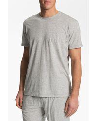 Daniel Buchler - Gray Peruvian Pima Cotton T-shirt for Men - Lyst