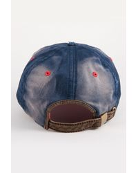 American Needle - Blue Cleveland Indians Baseball Cap for Men - Lyst